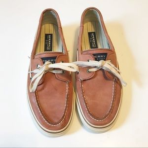Men's Sperry Pinkish Red Top Sider Sz 10